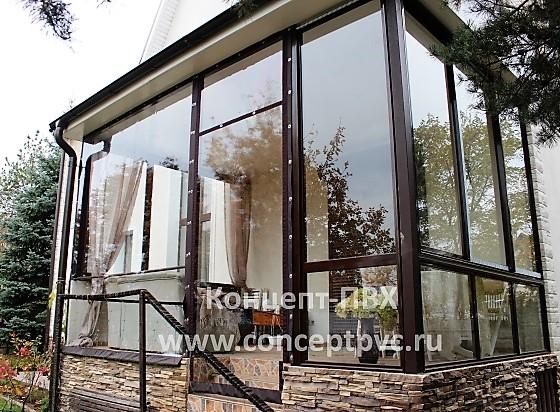Проект № 73 Мягкие окна для веранды г. Троицкое