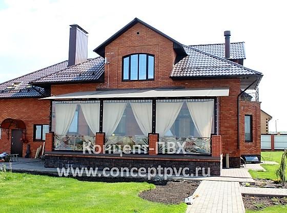 Проект № 27 Мягкие окна для веранды в г. Брянск 31.05.2018