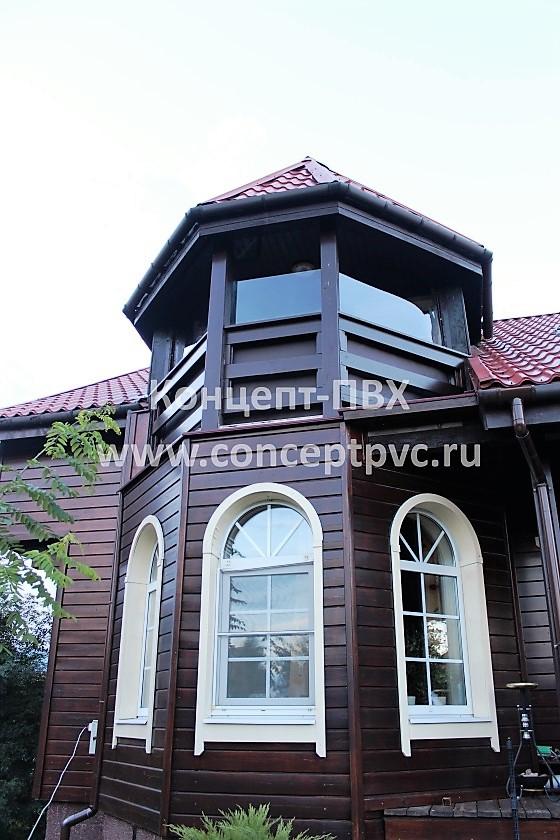 Проект №307 Мягкие окна для балкона Новая Рига
