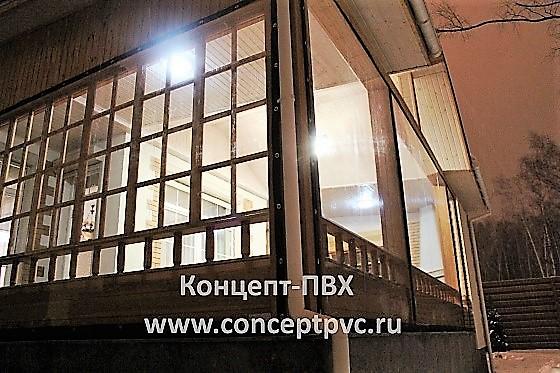 Проект №137 Мягкие окна для веранды коттеджа