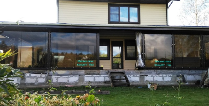 Проект №33 Мягкие окна тонированные