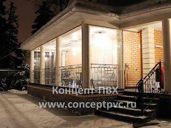Проект № 17 Раздвижные шторы из полиуретана в г. Одинцово 31.05.2018