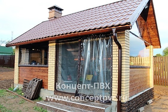 Проект № 25 Мягкие окна для беседки в г. Руза 31.05.2018
