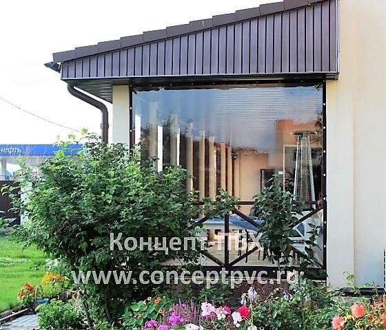 Проект № 75 Мягкие окна для террасы г. Зеленоград 31.05.2018