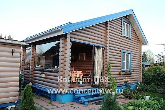 Проект № 9 Мягкие окна для летней кухни в г. Кубинка